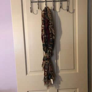 Forever 21 Printed Paisley Scarf